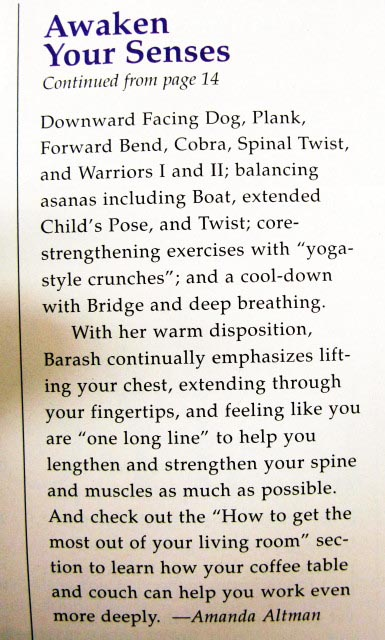 Fit Yoga Article