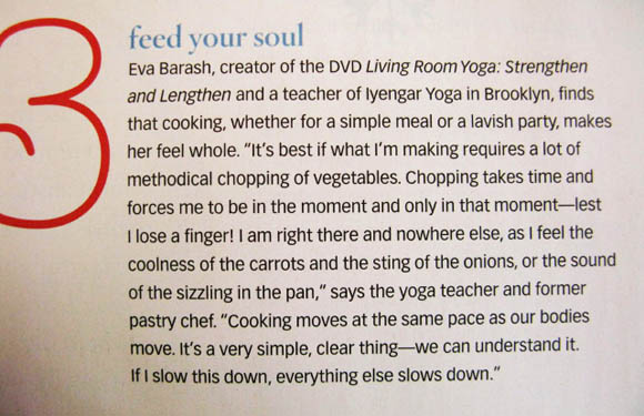 Yoga Journal Article